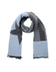 Diesel Oblong Scarves Sky Blue