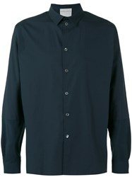 Stephan Schneider Infinite Shirt Men Cotton L Blue