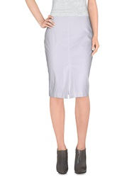 Roccobarocco Knee Length Skirts