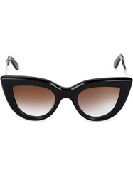 Ellery 'Cateye' Sunglasses Black