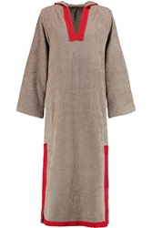 Lisa Marie Fernandez Cotton Terry Hooded Tunic