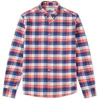 Penfield Beresford Check Shirt Blue