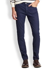 A.P.C. Colored Skinny Jeans Marine