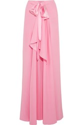 Tome Silk Charmeuse Maxi Skirt Pink