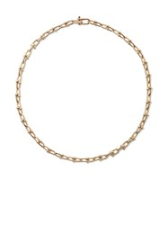 Tiffany And Co. Co 18Kt Yellow Gold City Hardwear Link Necklace Metallic