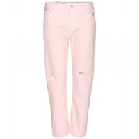 Acne Studios Pop Pink Trash Boyfriend Jeans