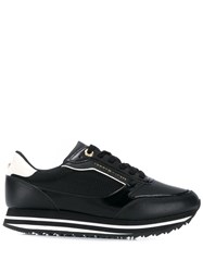 Tommy Hilfiger Retro Branded Sneakers Black
