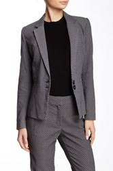 Dex Notch Collar Front Pocket Blazer Multi