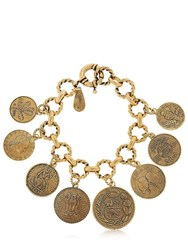 Alcozer And J. Coin Charm Bracelet