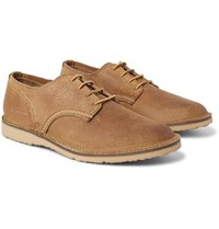Red Wing Shoes Weekender Textured Leather Derby Light Brown