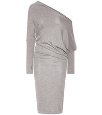 Tom Ford Cashmere And Silk Dress Grey