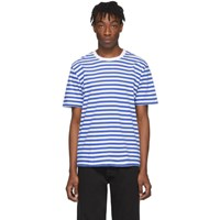 Maison Martin Margiela Three Pack Tricolor Striped T Shirt