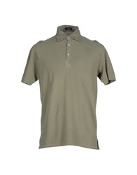 Rossopuro Topwear Polo Shirts Men Grey