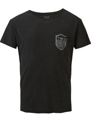 Osklen Chest Pocket T Shirt Black