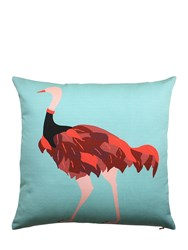 My Friend Paco Artur Printed Cotton Pillow
