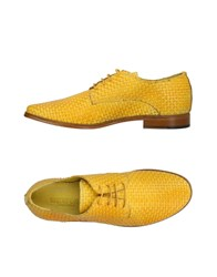 Wexford Lace Up Shoes Yellow