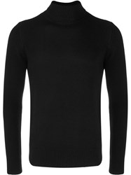 Majestic Filatures Ribbed Knit Roll Neck Jumper 60