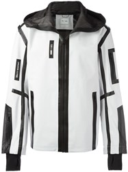 Puma Contrast Trimmings Sport Jacket White