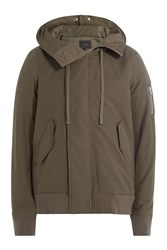 Iro Jacket With Hood Green