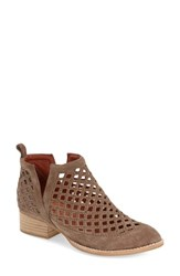 Women's Jeffrey Campbell 'Taggart' Ankle Boot Taupe Suede