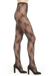 Chelsea 28 Lace Tights Black
