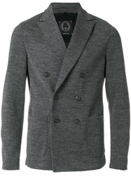 T Jacket Double Breasted Men Polyester Wool Xxl Grey