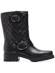 Michael Michael Kors Quilted Ankle Boots Black
