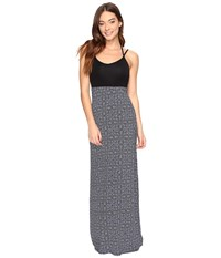 Hurley Ruby Maxi Dress Dark Purple Women's Dress