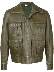 Fake Alpha Vintage 1930S Hunting Jacket Grey