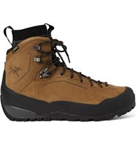 Arc'teryx Bora Gtx Waterproof Nubuck Hiking Boots Light Brown