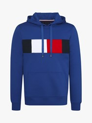Tommy Hilfiger Flag Chest Insert Hoodie Blue
