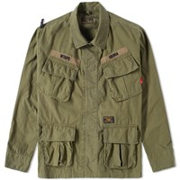 Wtaps Jungle Shirt Jacket Green