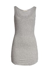 American Vintage Tank Top With Wool Grey