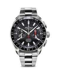 Alpina Alpiner 4 Automatic Chronograph Watch 44Mm Silver