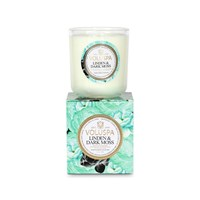 Voluspa Maison Jardin Boxed Candle Linden And Dark Moss