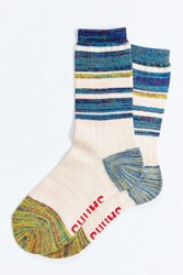 Chums Colorblock Wool Boot Sock Navy