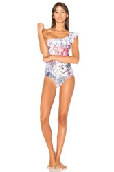 Minkpink Tropical Punch One Piece Pink