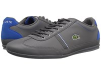 Lacoste Misano Sport 118 1 Dark Grey Blue Men's Shoes Gray