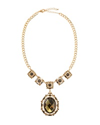 Fragments For Neiman Marcus Fragments Mixed Facet Oval Pendant Necklace