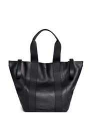 Alexander Wang Convertible Bovine Leather Tote Bag Black