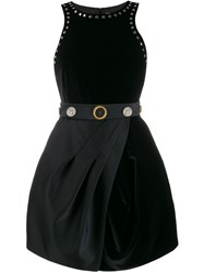 Fausto Puglisi Embossed Button Studded Dress 60