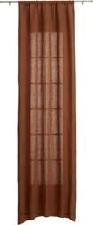 Cb2 Dark Copper Curtain Panel 48 X108