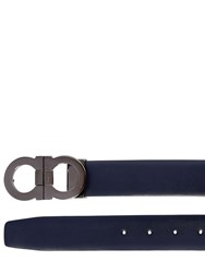 Salvatore Ferragamo 30Mm Reversible Matte Leather Belt