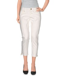 Toy G. Trousers 3 4 Length Trousers Women White