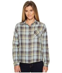 Prana Percy Top Gavel Long Sleeve Button Up Multi
