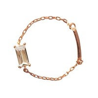 Grace Cayre Chain Ring Rose Gold Size 7