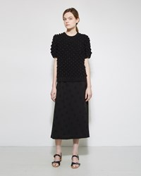 A Detacher Seine Skirt Black