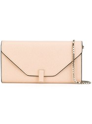 Valextra 'Iside Continental' Cross Body Bag Pink And Purple