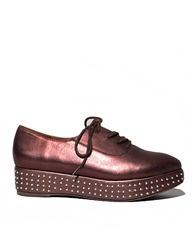 Pixie Market Jeffrey Campbell Dark Bronze Studded Creeper