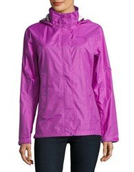 Marmot Outdoor Trail Shell Hoodie Neon Berry